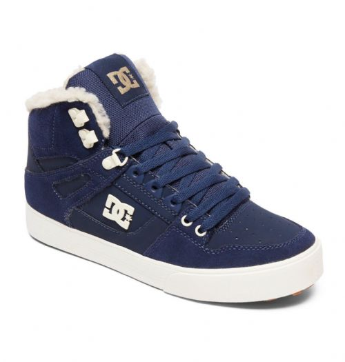 DC SHOES MENS HI TOP BOOTS.PURE WINTERIZED LINED LEATHER HIGH SHOES 8W 47 NKH